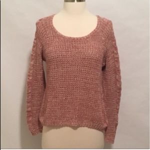 Pink Rose Brand Sweater Medium